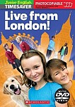 Junior English Timesaver: Live from London! (książka + DVD)