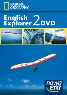 English Explorer 2 (2011) Płyta DVD z filmami National Geographic