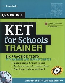 KET for Schools Trainer Practice Tests with Answers and Audio CDs (2)