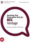 Speaking Test Preparation Pack for BEC Vantage Book with DVD
