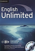 English Unlimited B1+ Intermediate Coursebook with e-Portfolio