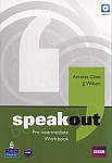 Speakout Pre-Intermediate B1 Workbook (no Key) plus Audio CD
