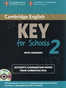 Cambridge English Key for Schools 2 Self-Study Pack (SB with ans and Audio CD)