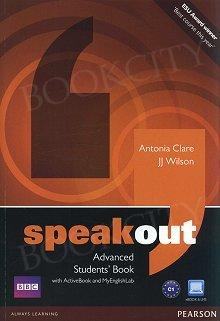 Speakout Advanced C1 Student's Book plus Active Book plus MyEnglishLab (z kodem)