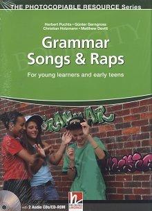 Grammar Songs & Raps książka + Audio CD + CD-ROM