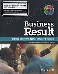 Business Result Upper-Intermediate Student's Book Pack New (DVD-ROM & Skills Workbook Pack)