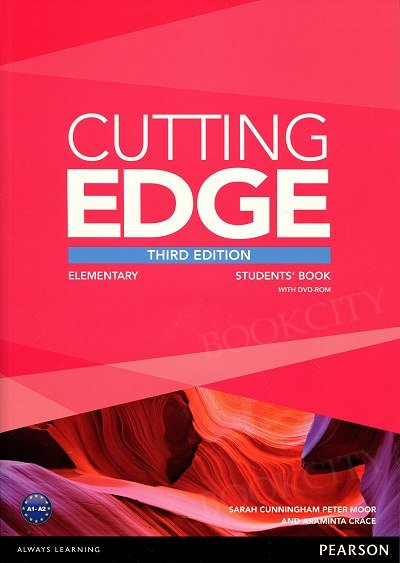 Cutting Edge 3rd Edition Elementary Student's Book plus DVD-ROM