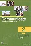 Communicate 2 Teacher's CD ROM + DVD Pack