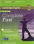 Complete First Certificate 2ed Workbook without Answers +Audio CD