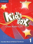 Kid's Box 1 (Updated 2nd Ed) Class Audio CDs (4)