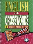 English with crosswords 1 Książka