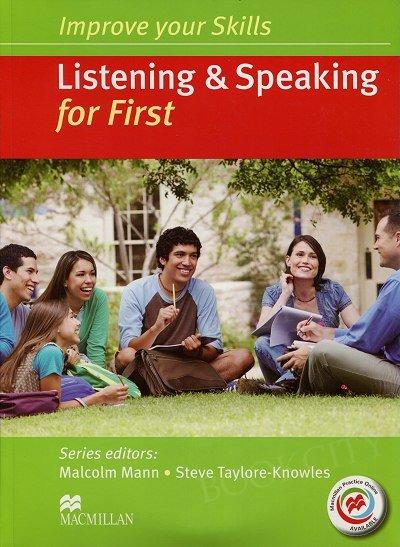 Improve your Skills for First. Listening and Speaking Skills Książka ucznia (bez klucza) + kod online