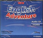 New English Adventure Starter Audio CD (3 CD)