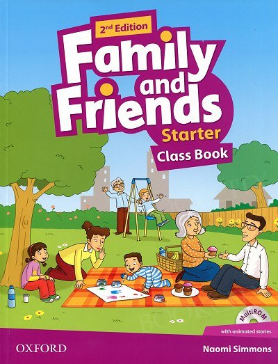Family and Friends Starter (2nd edition) Class Book