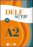 DELF Actif scolaire et junior (poziom A2) Książka+CD