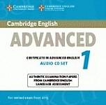 Cambridge English Advanced 1 CAE (2015) Audio CDs (2)