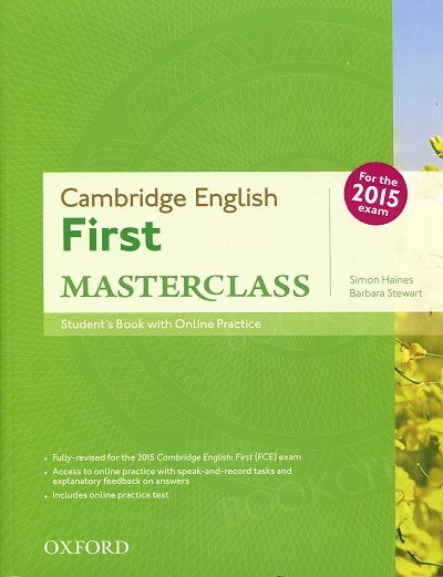 Cambridge English: First Masterclass Student's Book and Online Skills Practice Pack