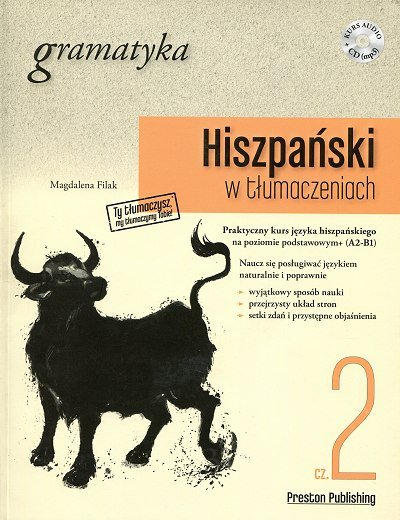 Hiszpański w tłumaczeniach. Gramatyka 2 Książka+MP3