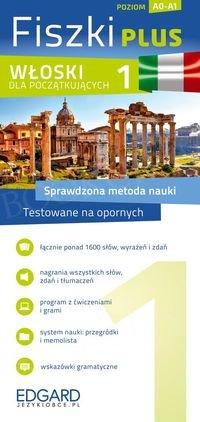 Włoski Fiszki PLUS dla początkujących 1 Fiszki + program + mp3 online