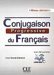 Conjugaison progressive du francais 2ed debiutant Książka+Cd
