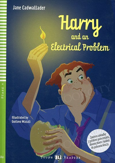 Harry and an Electrical Problem Book + CD