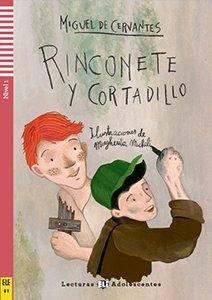 Rinconete y Cortadillo Książka + audio mp3