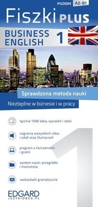 Angielski Fiszki PLUS Business English 1 Fiszki + program + nagrania mp3 online