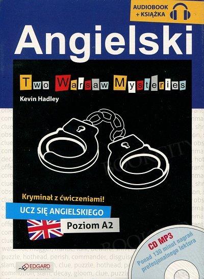 Angielski KRYMINAŁ z ćwiczeniami Two Warsaw Mysteries Książka+CD