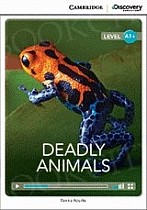 Deadly Animals Book with Online Access