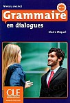 Grammaire en dialogues niveau avance Książka+CD