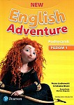 New English Adventure 1 Książka ucznia z kodem do eDesku