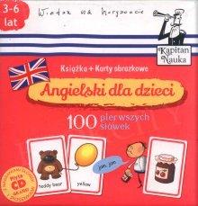 Angielski dla dzieci Karty obrazkowe. 100 pierwszych słów Książeczka + 104 kolorowe karty