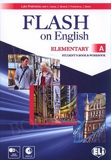 Flash on English Elementary A Student's Book and Workbook