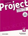 Project 4 (4th Edition) Teacher's Book Pack (without CD-ROM)