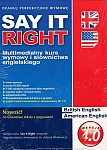 Say It Right wersja 4.0 DVD-ROM