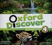 Oxford Discover 4 Class Audio CD (3)