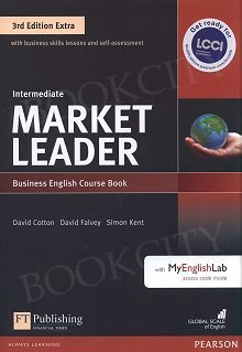 Market Leader 3rd Edition EXTRA Intermediate Coursebook with DVD-ROM and MyEnglishLab Pin Pack