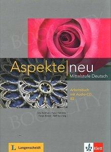 Aspekte NEU B2 Arbeitsbuch mit Audio-CD