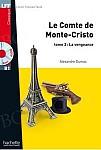 Le Comte de Monte Cristo tome 2 Książka + CD mp3