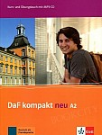 DaF Kompakt Neu A2 Kurs- und Übungsbuch + CD mp3
