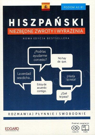Hiszpański Niezbędne zwroty i wyrażenia Książka + CD