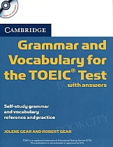Grammar and Vocabulary for the TOEIC Book with Answers + CD