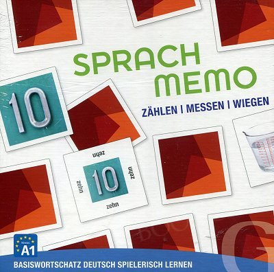 Sprachmemo Deutsch. Zählen, Messen, Wiegen
