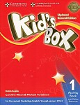 Kid's Box 1 (Updated 2nd Ed) Activity Book with Online Resources