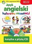Język angielski - kolorowe rozmówki książka+mp3CD