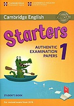 Cambridge English Starters 1 (2017) Student's Book Authentic Examination Papers