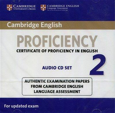 Cambridge English Proficiency 2 for updated exam (2015) Audio 2CD