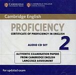 Cambridge English Proficiency 2 for updated exam (2015) Audio 2CD