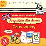 Angielski dla dzieci Karty obrazkowe. Czas wolny Książeczka + 104 kolorowe karty