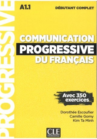 Communication progressive du francais. Debutant complet Książka + CD MP3